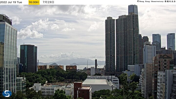 Hong Kong webcam - Tsim Sha Tsui West webcam, Hong Kong, Hong Kong