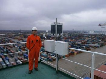 AWS installed on board the Hong Kong Voluntary Observing Ship