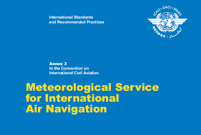 New ICAO Requirements of Aviation Meteorological Services