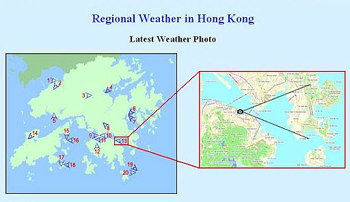 HKO launches real-time weather photos at Sai Wan Ho