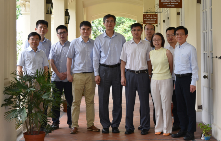 [Collaboration]Experts from CAAC met in Hong Kong to map out the future products and services of Asian Aviation Meteorological Centre