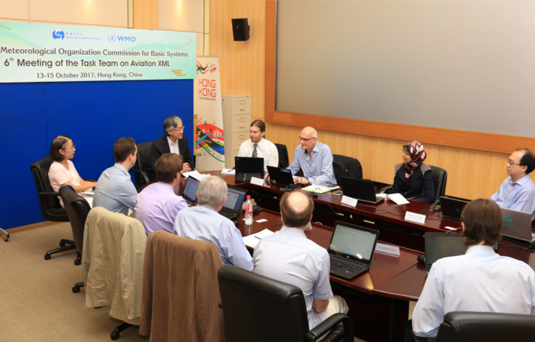 [Collaboration]International Experts met in Hong Kong to map out future aviation weather information exchange format