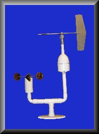 Cup Anemometer and Wind Vane
