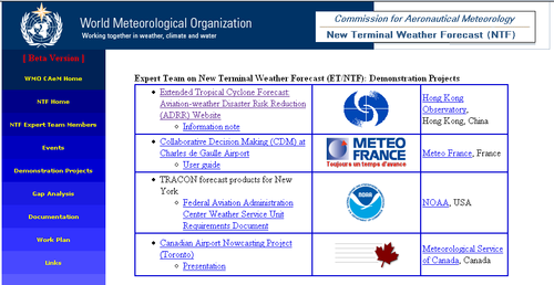 WMO website for development of new terminal forecast launched by HKO