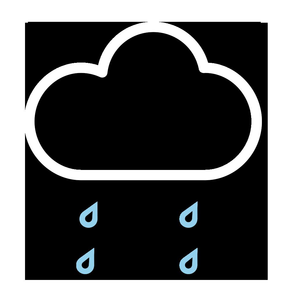天氣圖示:大致多雲,有幾陣雨。