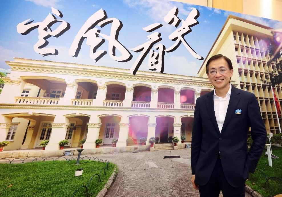 Mr Shun Chi-ming hopes the Observatory will uphold professionalism and continue being people-oriented